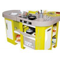 Smoby Kuchyňka Tefal Studio XL zeleno-šedá elektronická - Poškozený obal 6