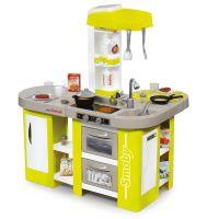 Smoby Kuchyňka Tefal Studio XL zelenošedá elektronická