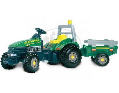 Smoby Šlapací traktor Stronger s přívěsem