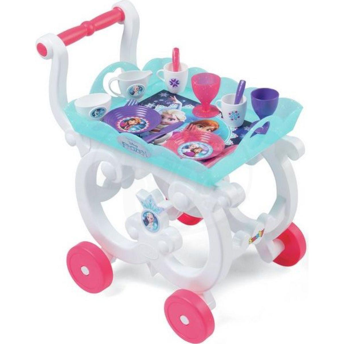 Smoby Ledové království Servírovací vozík XL
