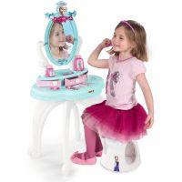 Smoby Ledové království Toaletní stolek se židličkou 2