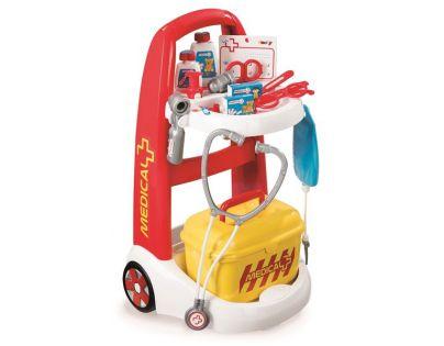 Smoby Lékařský vozík červený