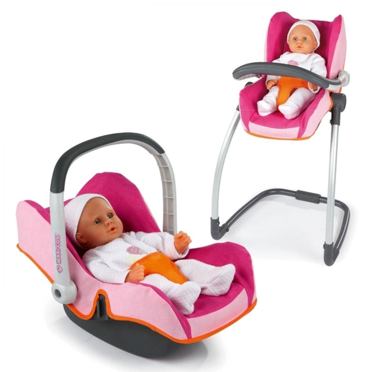 3v1 Autosedačka a židlička Maxi Cosi Smoby