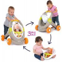 Smoby Minikiss Baby Walker 3v1 zvířátko 3