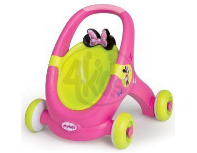Smoby Minnie Baby Walker 2v1
