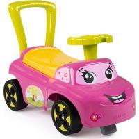 Smoby 443016 - Odrážedlo Auto růžové