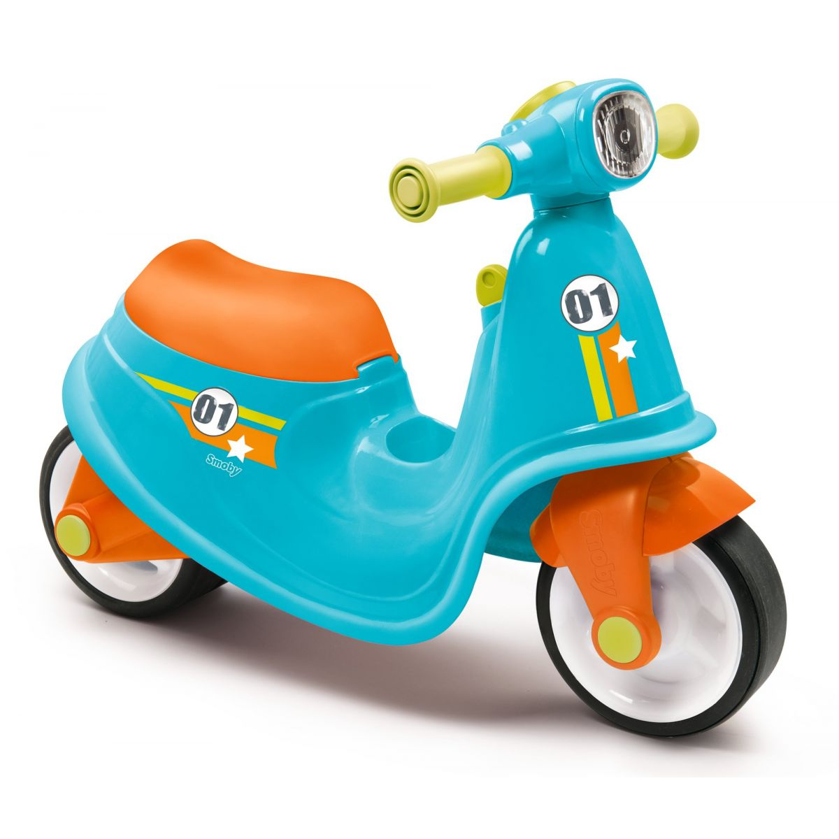 Smoby Odrážedlo Motorka s reflektorem modrá