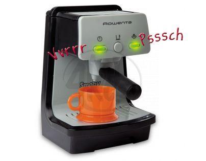 Smoby 024538 - Dětské Espresso mini Rowenta (na baterie)