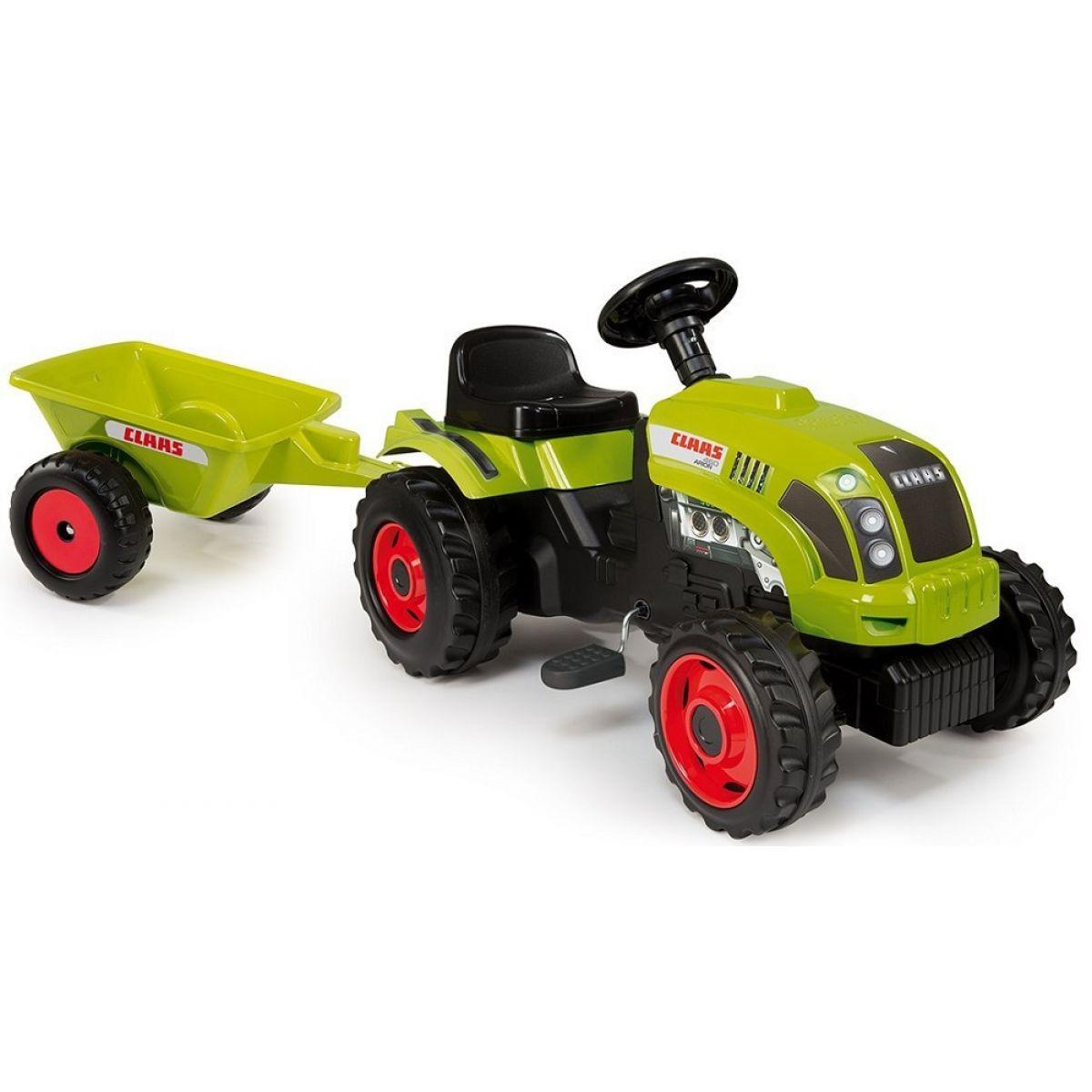 Smoby Šlapací traktor Class s vozíkem Smoby