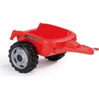 Smoby Šlapací traktor Farmer XL červený s vozíkem 6