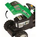 Smoby 033329 - Šlapací traktor GM Bull s vlekem zelený 3