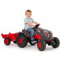 Smoby Šlapací traktor Stronger XXL s vozíkem 2