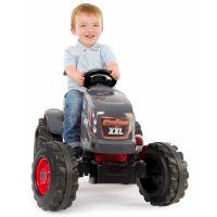 Smoby Šlapací traktor Stronger XXL s vozíkem 3