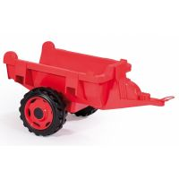 Smoby Šlapací traktor Stronger XXL s vozíkem 4