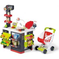 Smoby Supermarket s nákupním vozíkem