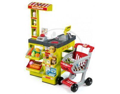 Supermarket zelenočervený Smoby SM 024045