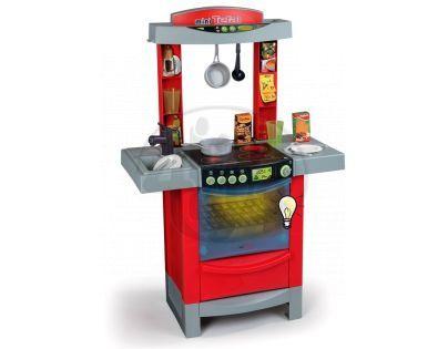 Smoby 024147 - Kuchyňka Tefal Cook tronic červená