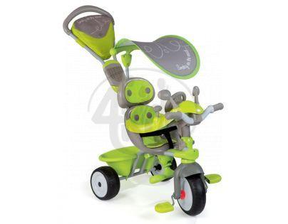 Tříkolka Baby Driver Confort šedozelená Smoby 434110