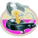 Smoby Tříkolka Zooky kovová růžová 3