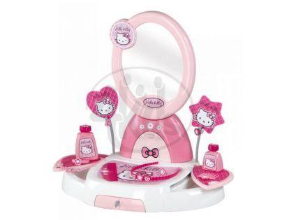 Smoby 024113 - Toaletní stolek Hello Kitty s příslušenstvím