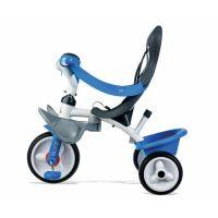 Smoby Tříkolka Baby Balade 2 3v1 modrá 4