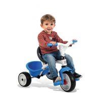 Smoby Tříkolka Baby Balade 2 3v1 modrá 6