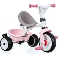 Smoby Tříkolka Baby Balade Plus růžová 2