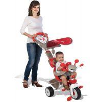 Smoby Tříkolka Baby Driver Confort červenošedá - Poškozený obal 2