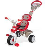Smoby Tříkolka Baby Driver Confort červenošedá - Poškozený obal 3
