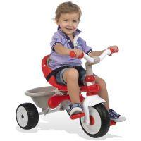 Smoby Tříkolka Baby Driver Confort červenošedá - Poškozený obal 4
