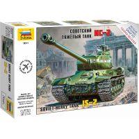 Zvezda Snap Kit tank IS-2 Stalin 1:72