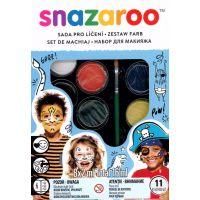Snazaroo Obličejové barvy pirát a tygr