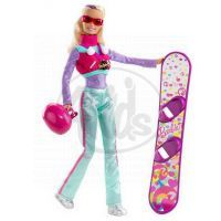 MATTEL T2690 - Barbie Snowborďačka I Can Be