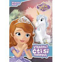 Disney Princezna Sofie První Vybarvuj, čti si, nalepuj