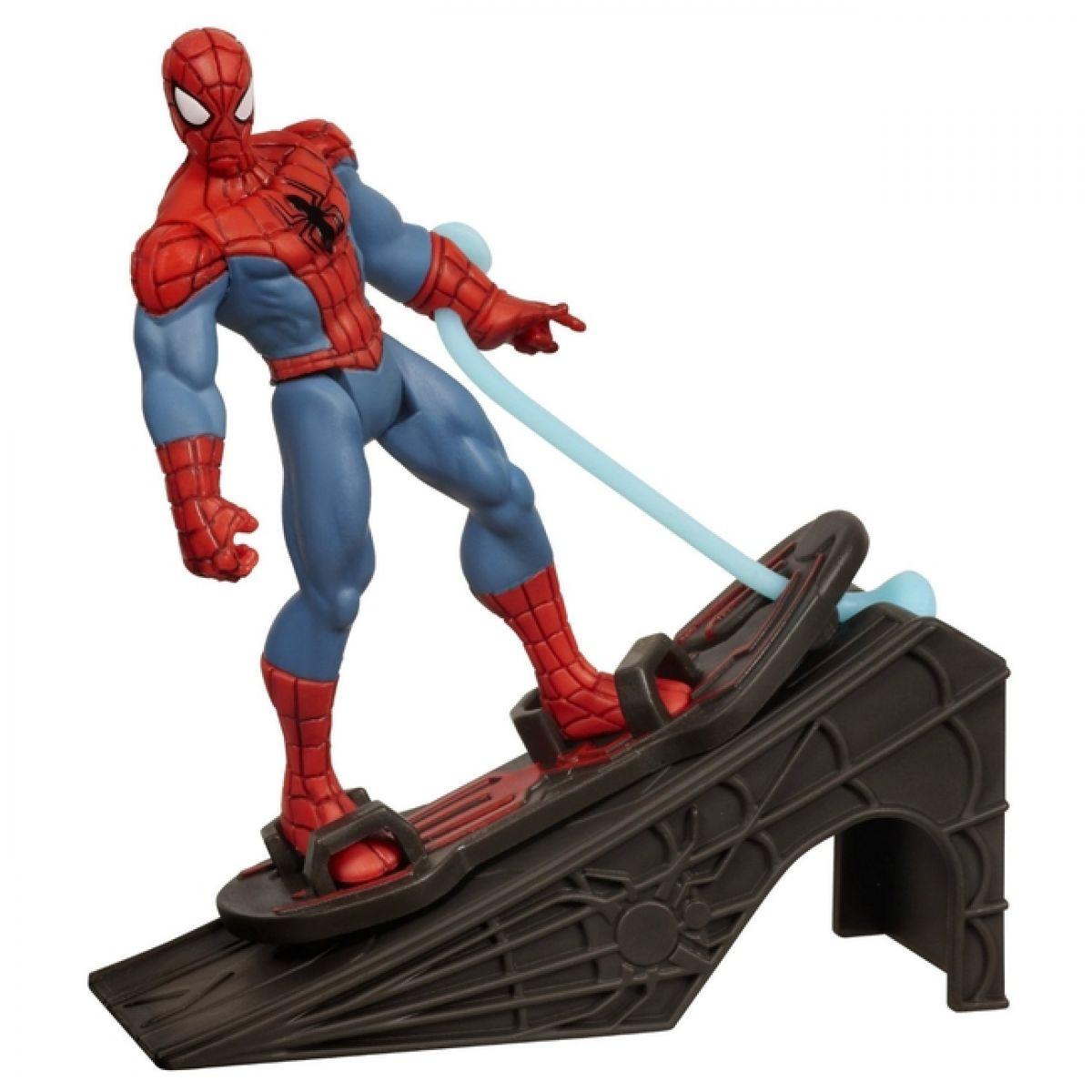 Spiderman Akční vystřelovací figurky Hasbro - Spiderman Rocket Ramp