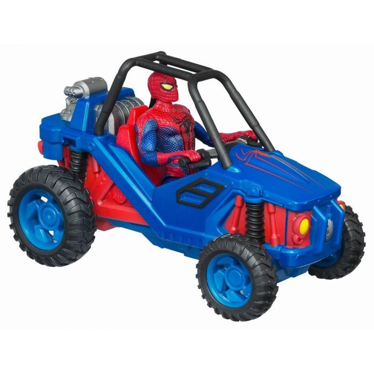 Spiderman vozidla na setrvačník Hasbro 39607 - Terénní vozidlo