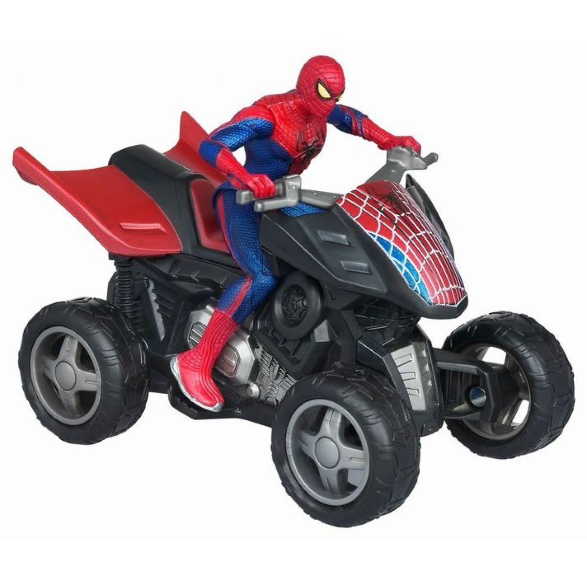 Spiderman vozidla na setrvačník Hasbro 39607 - Čtyřkolka