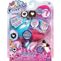 Spin Master Candylocks Cukrové panenky s vůní dvojbalení čokoládové