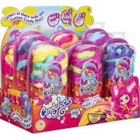 Spin Master Candylocks Cukrové panenky s vůní žluté s růžovou 2