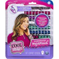 Spin Master Cool Maker náhradní nitě pro náramkovač bordó-fialová-bílá
