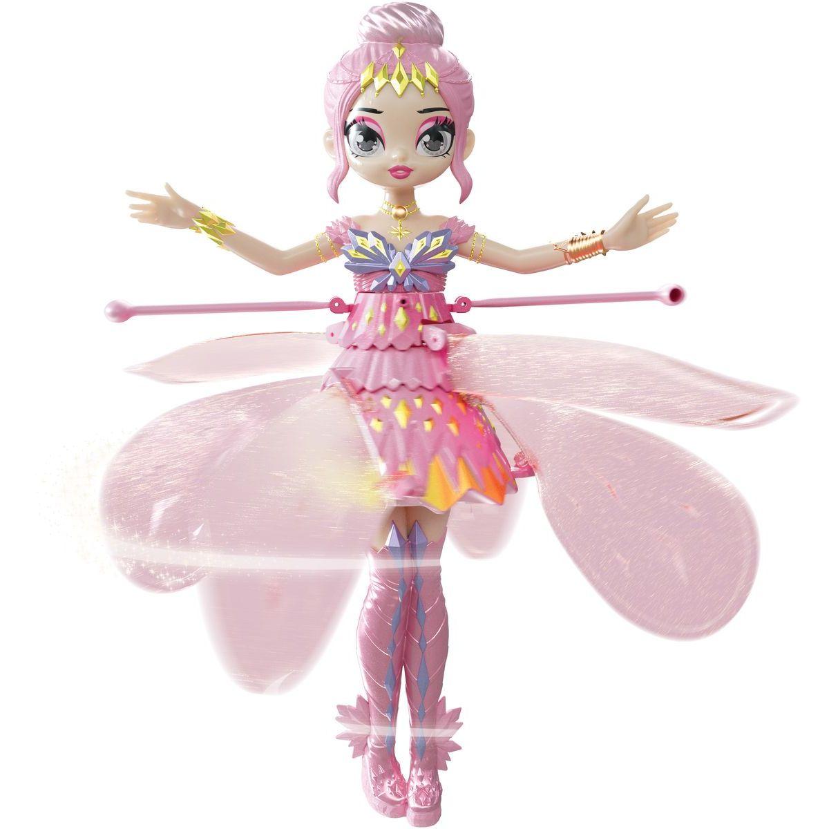 Spin Master Hatchimals lietajúca bábika pixie ružová - Poškodený obal