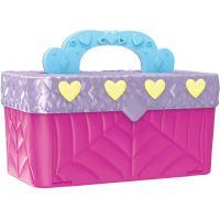Spin Master Hatchimals mini pixies panenky 4ks v kufříku Růžový