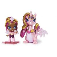 Spin Master Hatchimals pixies panenky se zvířátkem a doplňky růžové-fialová křídla