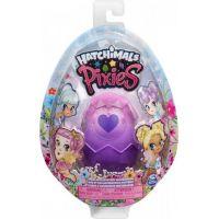 Spin Master Hatchimals Pixies Royals fialové vejce