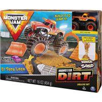 Spin Master Monster Jam sada s tekutým pískem Delux El Toro Loco