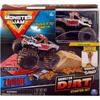 Spin Master Monster Jam základní sada s tekutým pískem Zombie