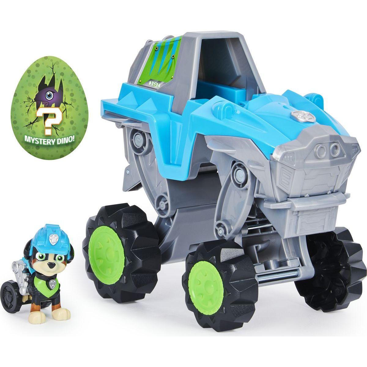 Spin Master Paw Patrol Dino transformujúcej sa auto s figúrkou