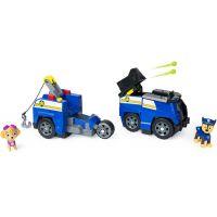 Spin Master Paw Patrol dvě záchranná vozidla v jednom Chase