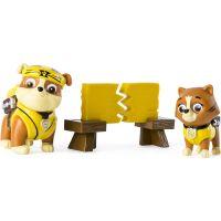Spin Master Paw Patrol Figurky se zvířátky Rubble