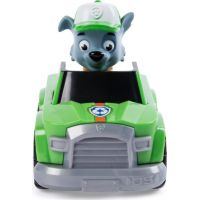 Spin Master Paw Patrol Malá vozidla s figurkou Rocky zelené auto